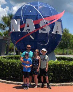 Dr. Shawn Russett Family